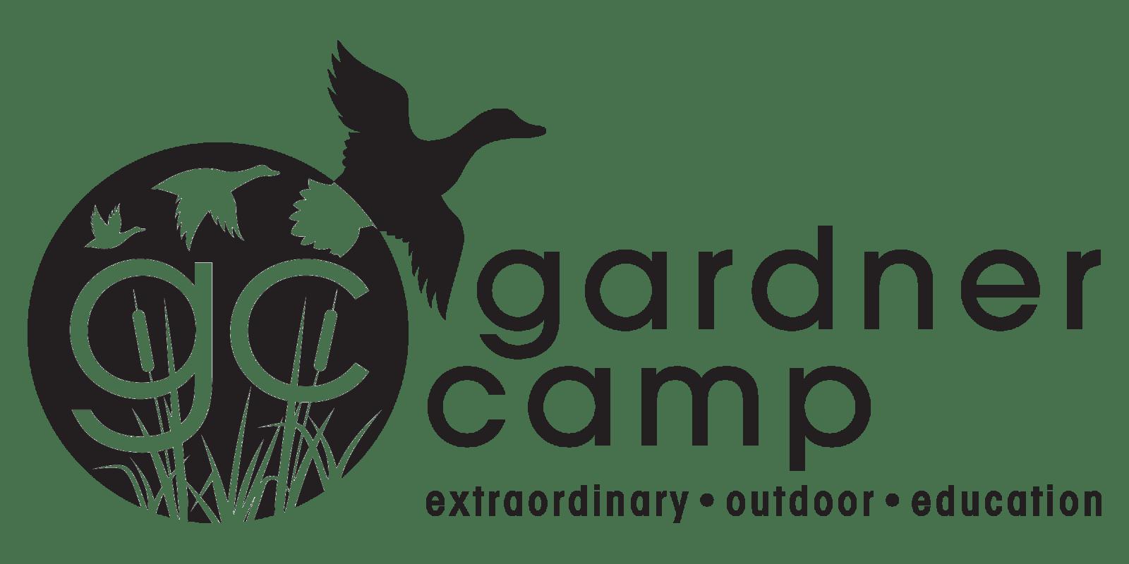 Gardner Camp Black Logo - PNG
