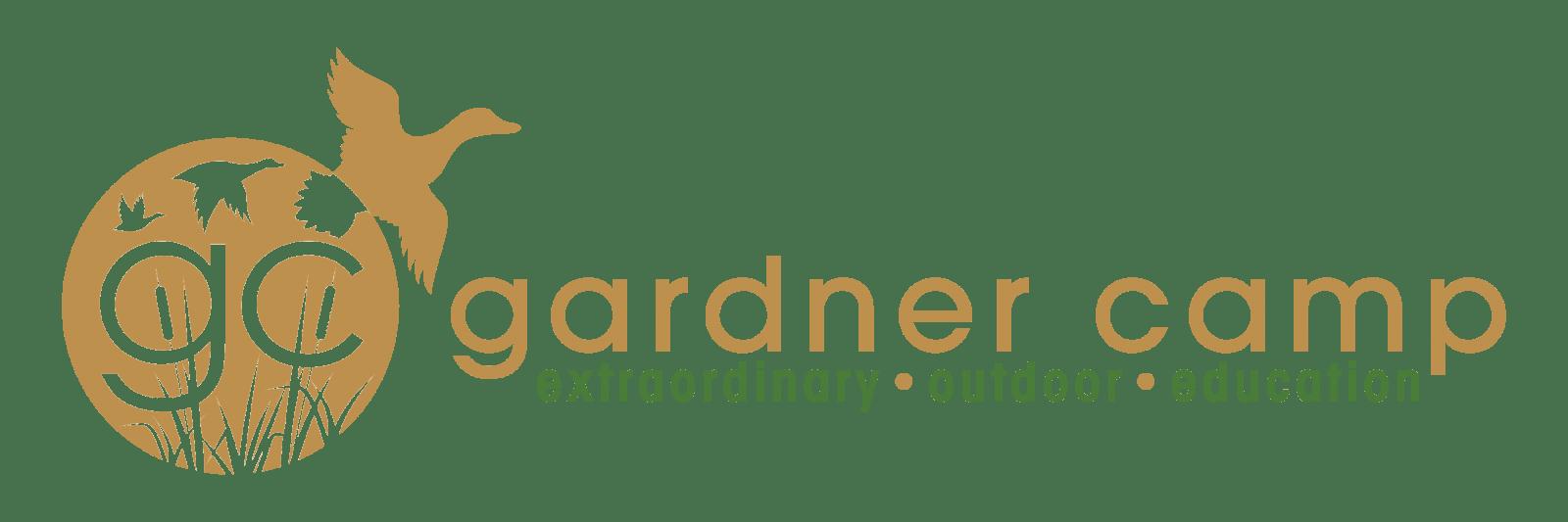 Gardner Camp Green and Gold Logo