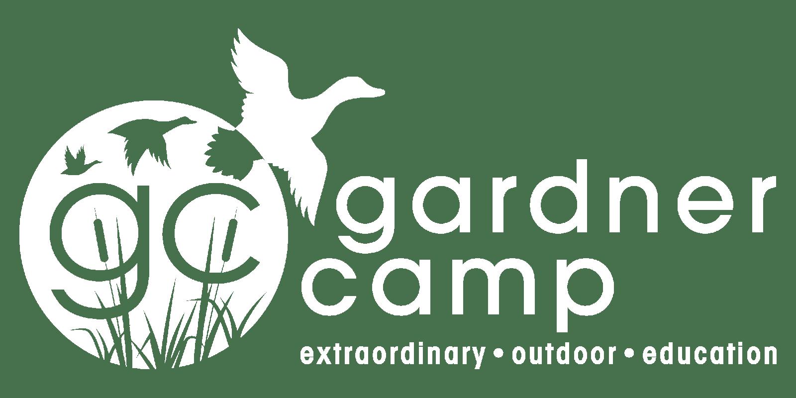 Gardner Camp White Logo - PNG