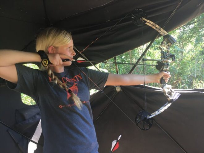 Gardner Camp offers Archery instruction through private group outings and annual events.